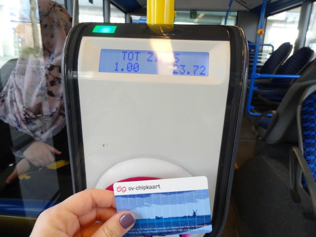 validacao bus amsterdam
